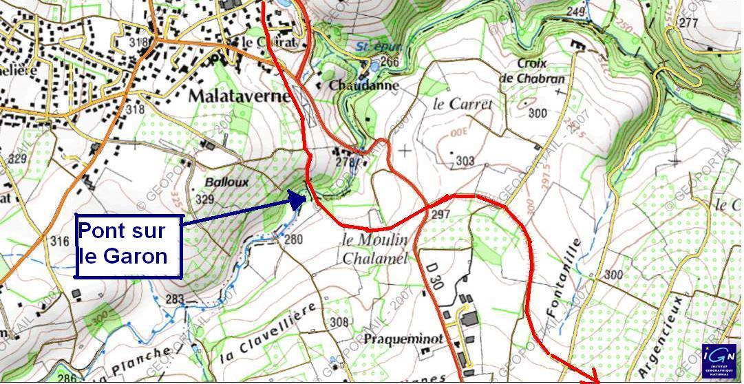 Chemin de fer de l 39 ouest lyonnais brindas soucieu en for Plan de garons
