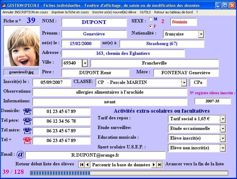 Gestion Ecole Par Marc Daniel Version 2000 Telechargement Gratuit